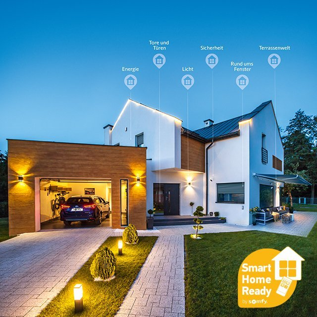 Smart Home powered by somfy